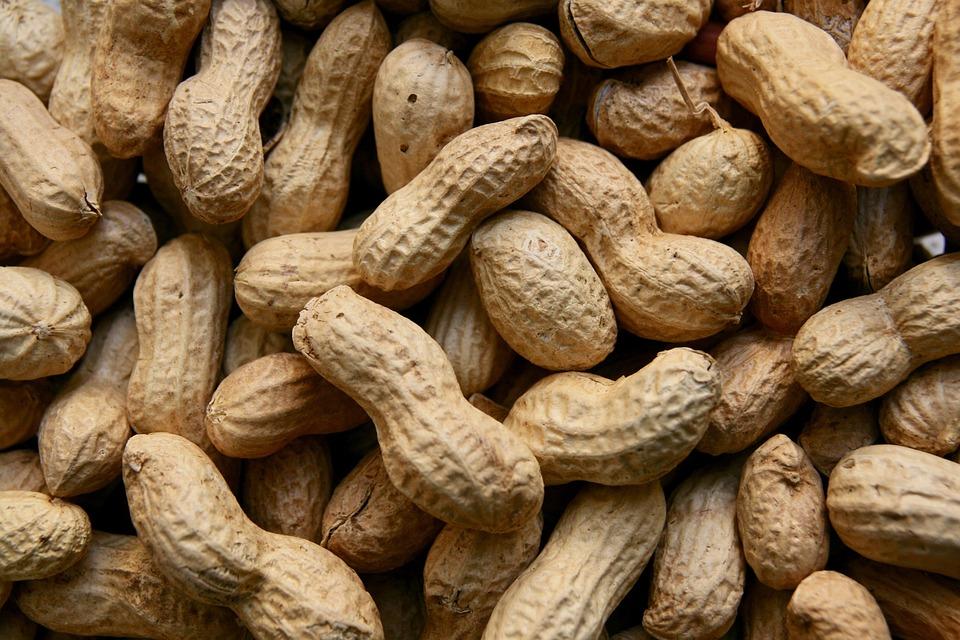 neloupané arašídy